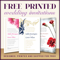 Free Printed Wedding Invitations